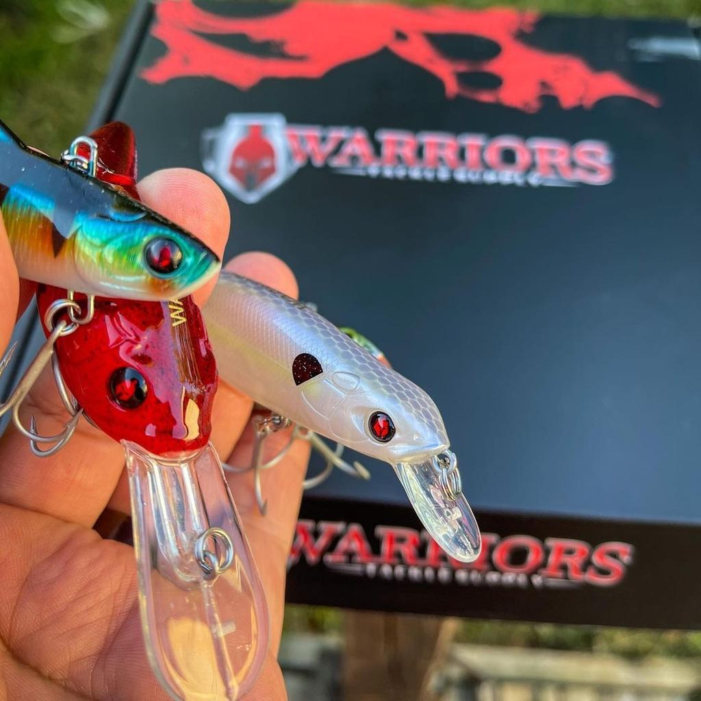 Warriors Tackle Supply | Fishing Tackle and Bait Monthly Subscription Box